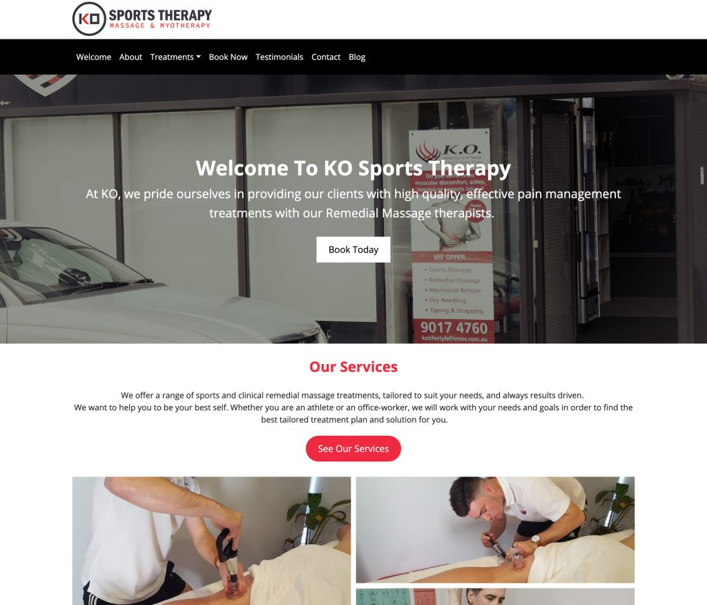 K.O. Sports Therapy
